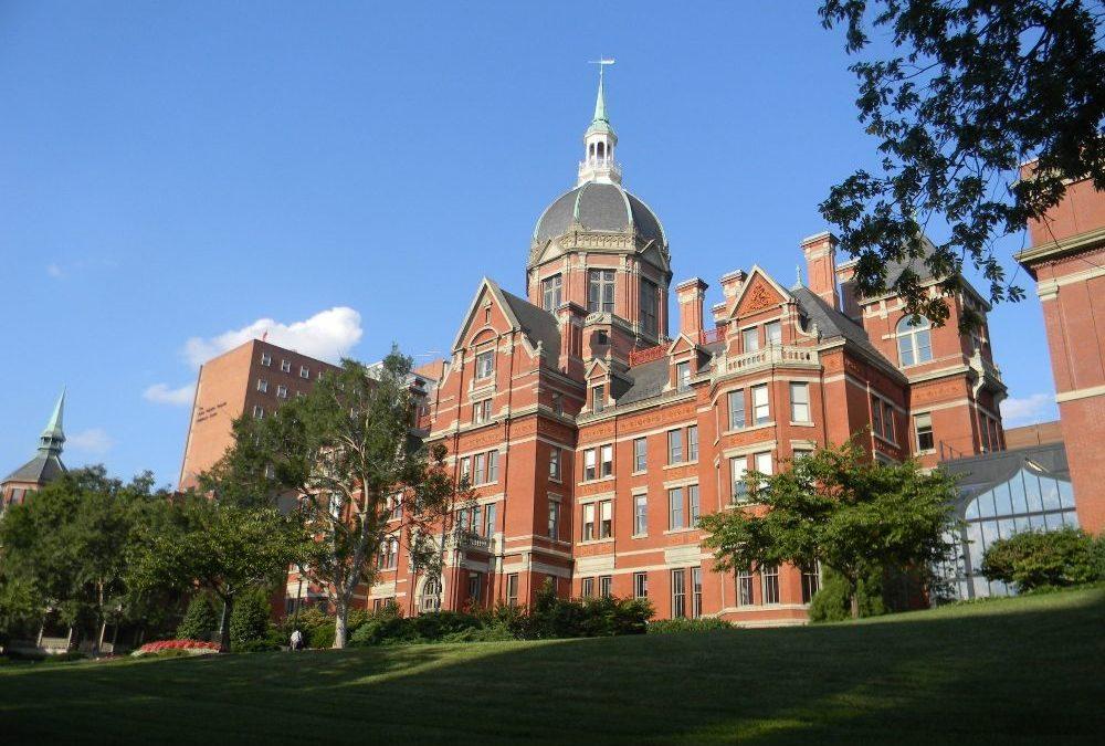 Un travail de fin d'études à The Johns Hopkins University (Baltimore, Etats-Unis)